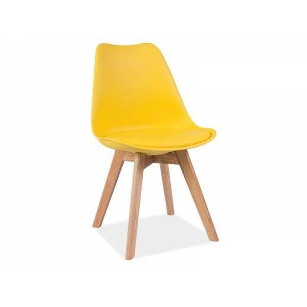 Žltá stolička Signal Kris