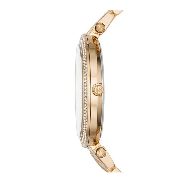Dámske hodinky v zlatej farbe s modrým ciferníkom Michael Kors Darci