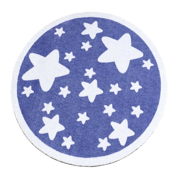 Koberec Deko - fialové hviezdy, 100 cm