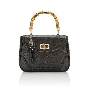 Kožená kabelka Giorgio Costa 15017 Black