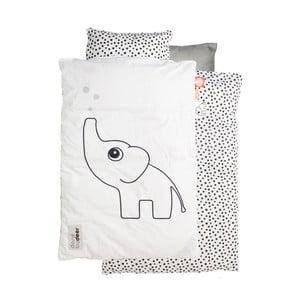 Biele obliečky Done by Deer Elphee 70x100 cm