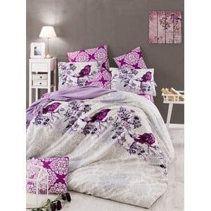 Obliečky s plachtou Arlin Lilac, 200x220 cm