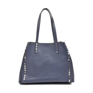 Modrá kožená kabelka Isabella Rhea Radana