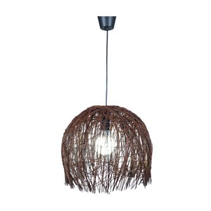 Stropné svetlo Struwel Brown, 35x40 cm