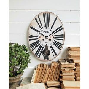 Nástenné kyvadlové hodiny Pendulum, 43x58 cm