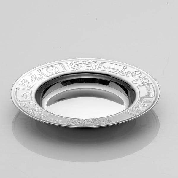 Detský tanier Steel Function Engraving