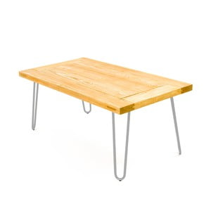 Konferenční stolek Table 100x60 cm, chromované nohy