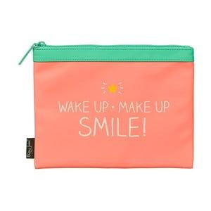 Ružová kozmetická taštička Happy Jackson Smile