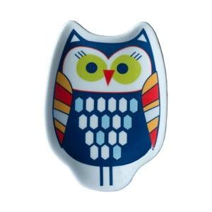 Keramická tácka Tri-Coastal Design Owl Tea
