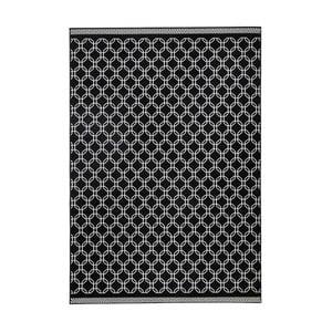Čierny koberec Zala Living Chain, 160×230cm