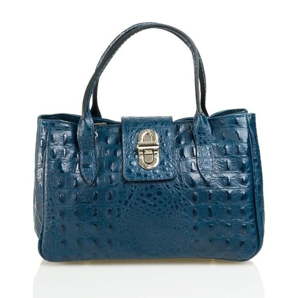 Kožená kabelka Laura, modrá