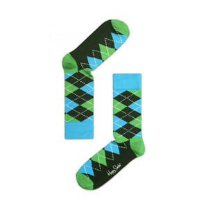 Ponožky Happy Socks Green and Blue, veľ. 36-40