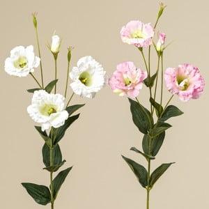 Sada 2 dekoratívnych kvetín Boltze Eustoma