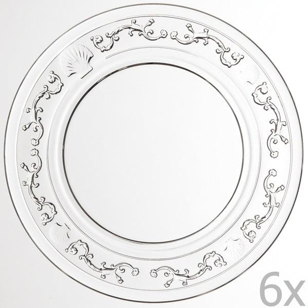 Sada 6 tanierov Versailles, 25 cm