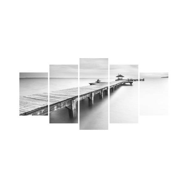 Viacdielny obraz Black&White no. 65, 100x50 cm