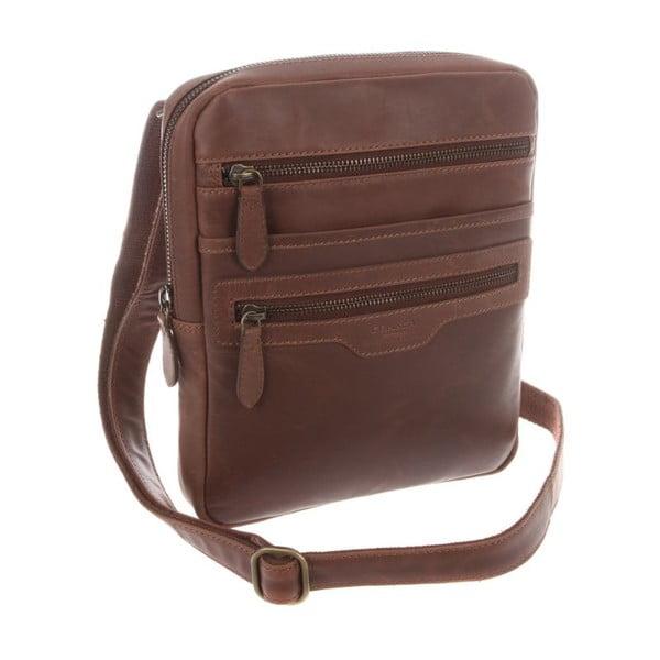 Kožená taška Bader Natural Vintage