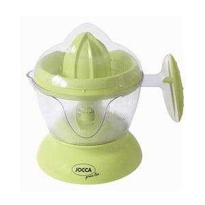 Zelený elektrický odšťavovač citrusov JOCCA Juicer Duo