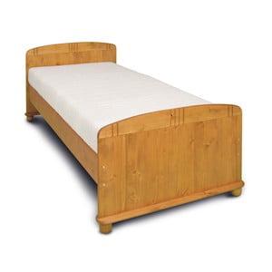 Detská posteľ z borovicového dreva Faktum Tomi, 90×200cm