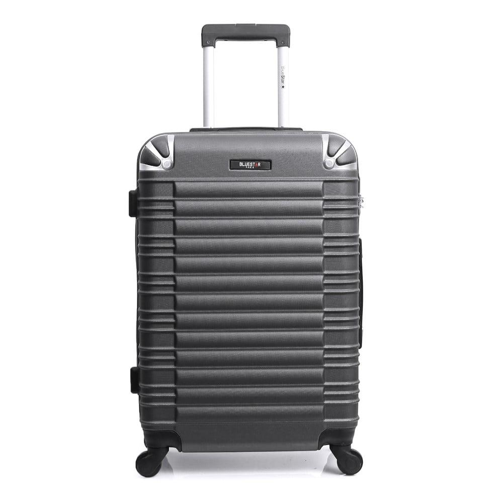 Tmavosivý cestovný kufor na kolieskach Blue Star Lima, 60 l