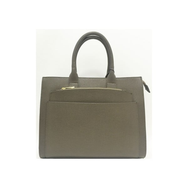 Kožená kabelka Goa Taupe
