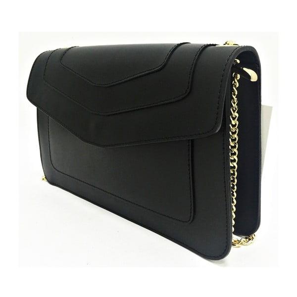 Kožená kabelka Joia Black