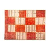 Vlnený koberec Allmode Orange Kilim, 200x140 cm