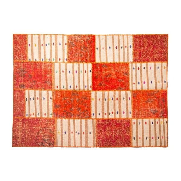 Vlnený koberec Allmode Orange Kilim, 180x120 cm