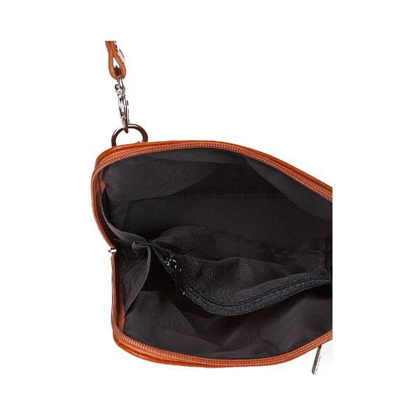 Kožená kabelka Giorgio Costa 15027 Cognac