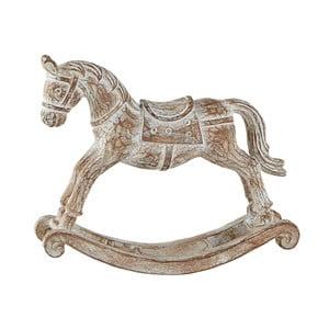 Dekoratívny hojdací kôň KJ Collection, 18 cm