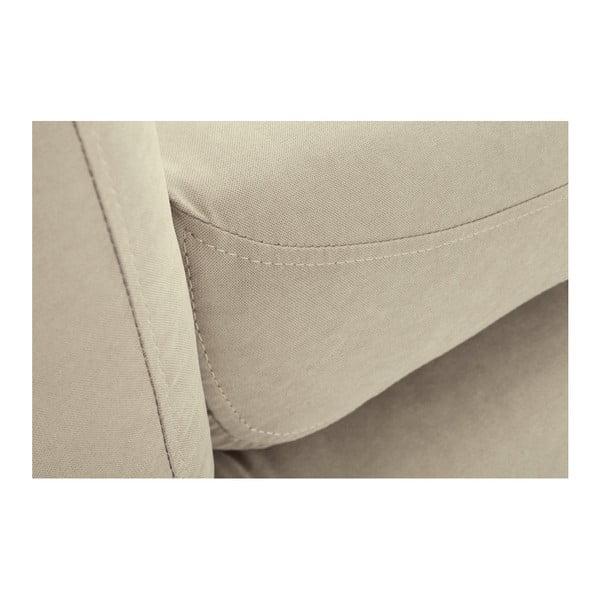 Béžová rohová trojmiestna pohovka Scandi by Stella Cadente Maison, ľavý roh