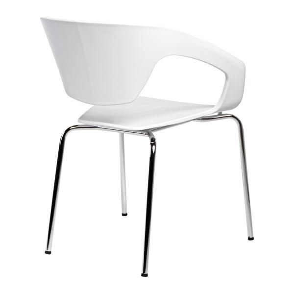 Sada 2 stoličiek D2 Space, biele