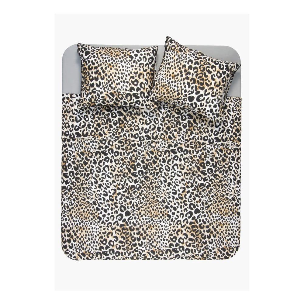 Bavlnená obliečka s leopardím vzorom Ambianzz, 220 x 240 cm