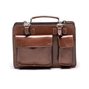 Kožená kabelka 309 Cognac