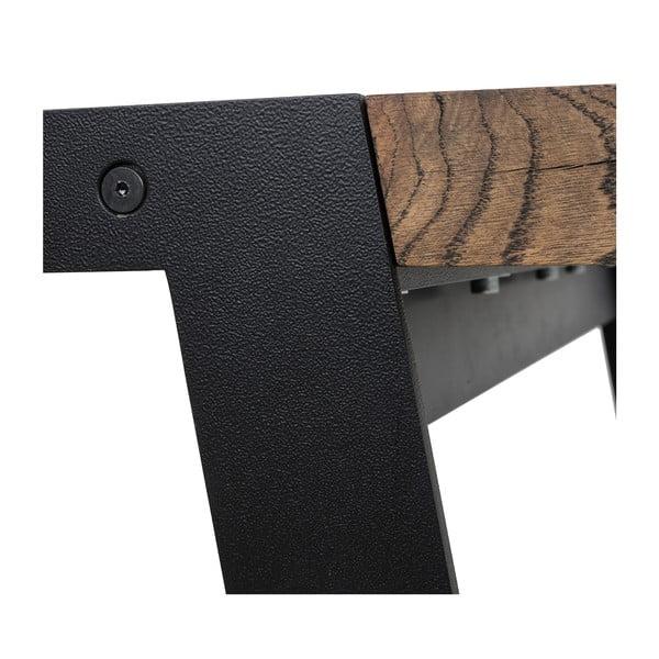 Drevený jedálenský stôl Canett Aspen, 290 cm