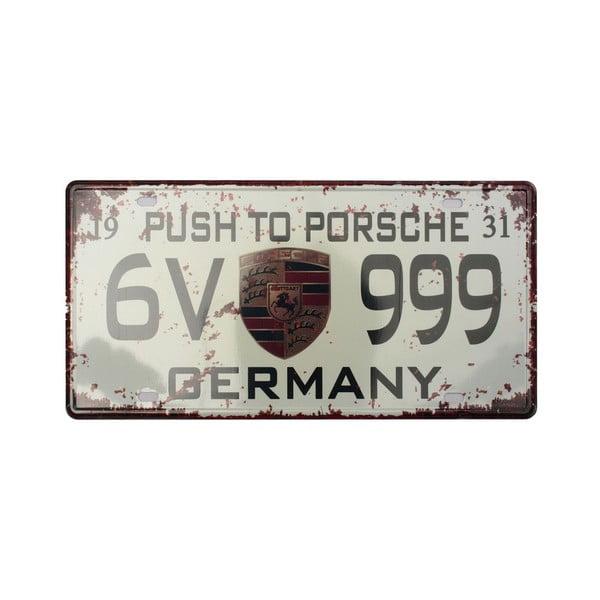 Ceduľa Brabantia Germany, 15 x 30 cm