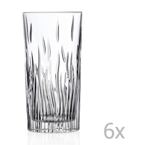 Sada 6 pohárov RCR Cristalleria Italiana Luisa