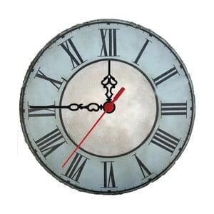 Nástenné hodiny Vintage Steel, 30 cm