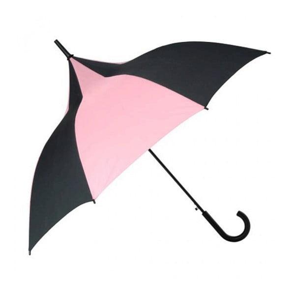 Dáždnik Candice, black/pink