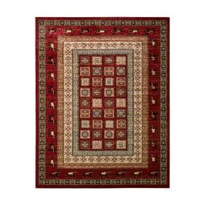 Červeno-béžový koberec Schöngeist & Petersen Gemstone rúrou, 160 x 230 cm