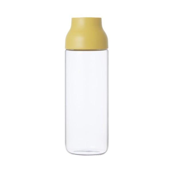 Žltá karafa Kinto Capsule, 1 l