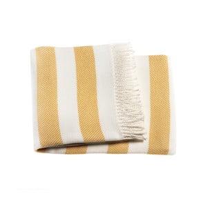 Žltá deka Euromant Candy, 140 x 180 cm