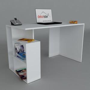 Pracovný stôl Labran White, 60x120x73,8 cm