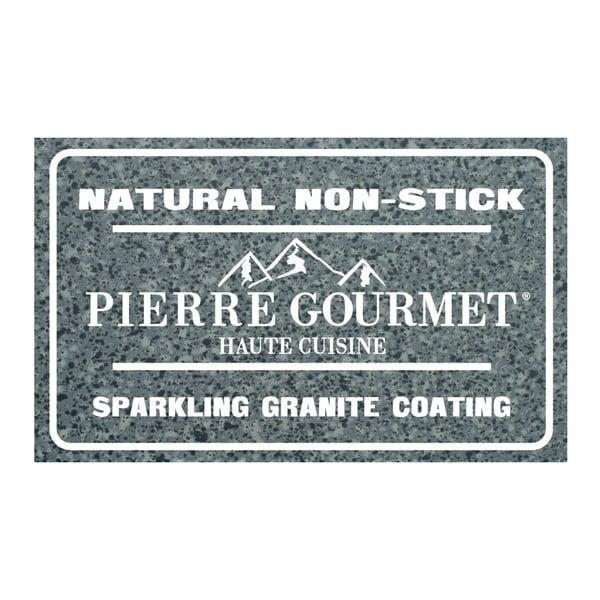Hrniec s pokrievkou a drevenými úchytmi Bisetti Pierre Gourmet, výška 11,4cm