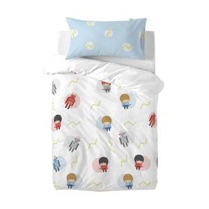 Detské obliečky z čistej bavlny Happynois Beep, 100×120 cm