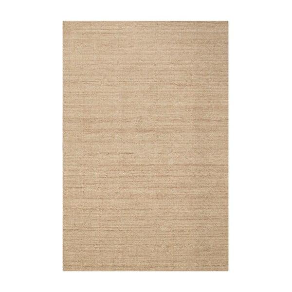 Vlnený koberec Barbora Beige, 140 x 200 cm