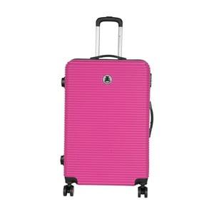 Ružový cestovný kufor LULU CASTAGNETTE Lucy, 107 l