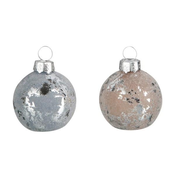Sada 12 vianočných ozdôb Namel, Ø4 cm