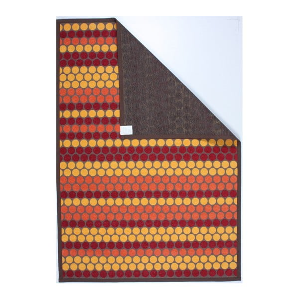 Koberec NW Brown/Red/Yellow, 160x230 cm