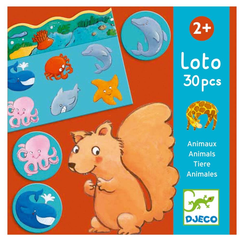 Detská hra loto Djeco Animals