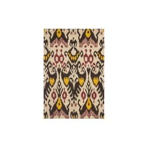 Vlnený koberec Maraca Ikat, 121x182 cm